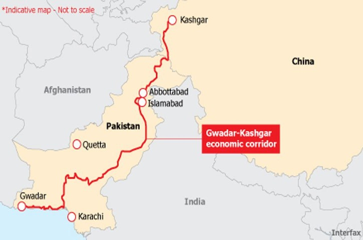 CPEC Route Map