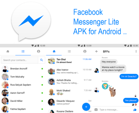 Facebook Messenger Lite APK for Android