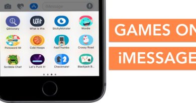 iMessage Games