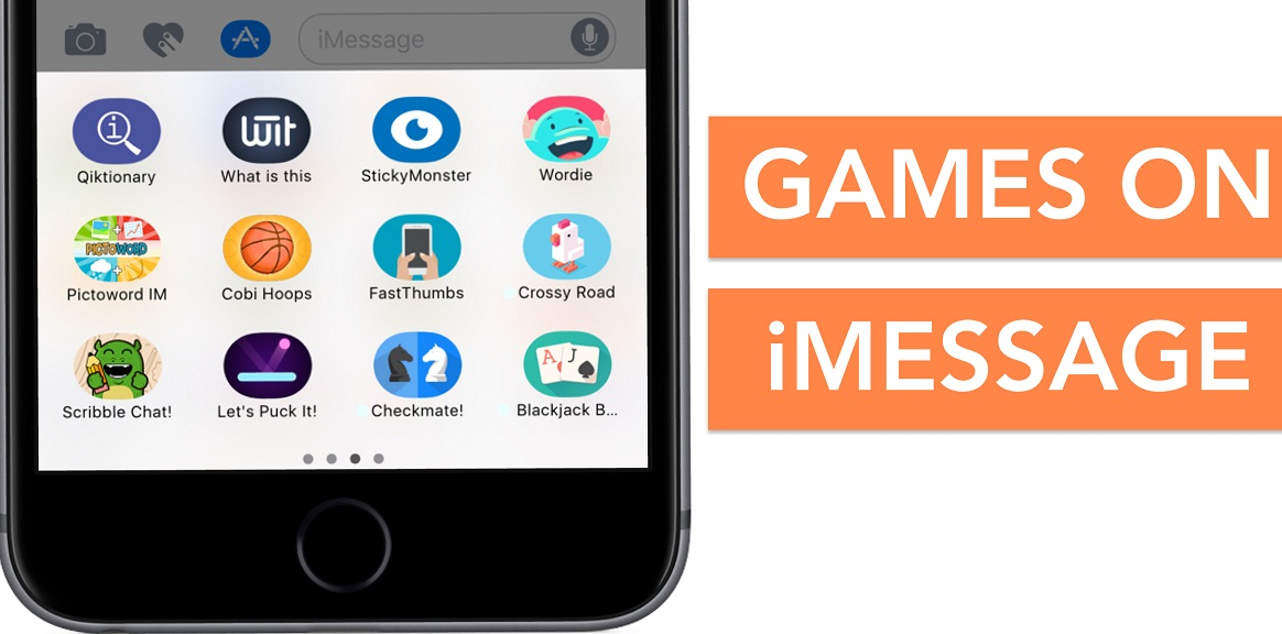 iMessage Games: How to Play and Get iMessage Games on iOS