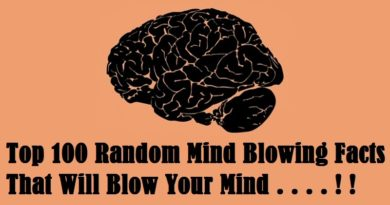Random Mind Blowing Facts