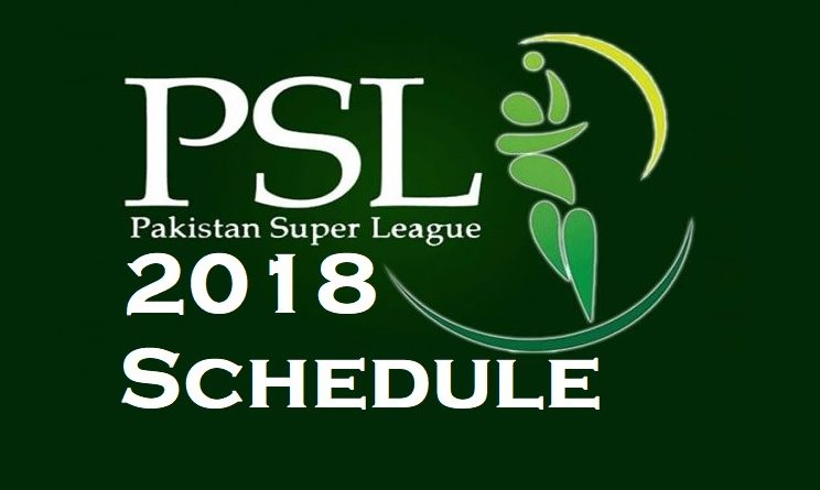 Pakistan Super League 2018 (PSL 2018)