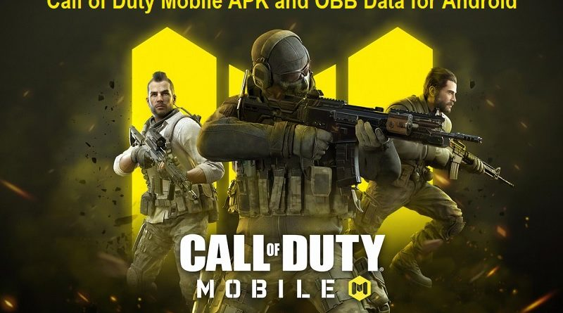 Call of Duty Mobile APK and OBB Data for Android